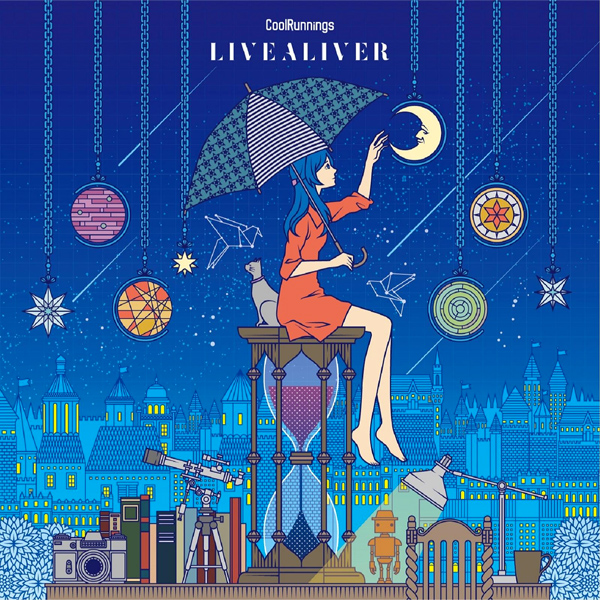 artist CoolRunnings 7th mini album<br>『LIVEALIVER』